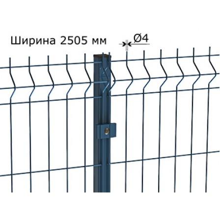 Забор панельный Light 3D 4 мм  2230 х 2505  порошковая окраска